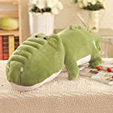 LJHA kaodian Cushion Cute Comfortable Baby Toy Stuffed Animal Cotton Doll Toy Pillow 4 Colors Available (Color : Dark green, Size : 1m)