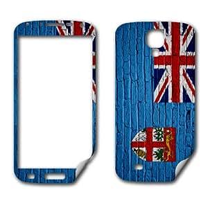 Skin (decal) for Samsung Galaxy S 4 - Flag of Fiji - Brick design (Fijian)