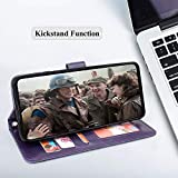 Harryshell Kickstand Flip PU Leather Wallet Case