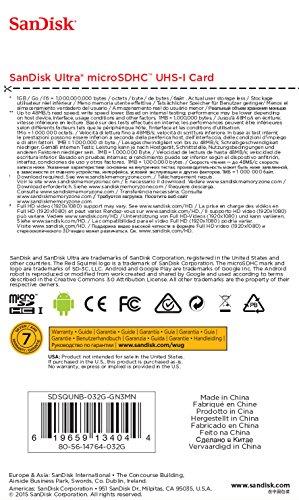 Sandisk 32GB 32G Ultra Micro SD HC Class 10 TF Flash SDHC Memory Card - SDSQUNB-032G-GN3MN 3 bibvlivb