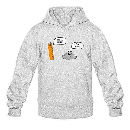 Lindmy Men's U Rock U Rule Sweatshirts (Katana Bling)