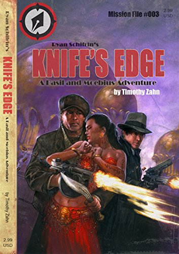 Knife's Edge (A Basil and Moebius Adventure Book 3) - Edge Magnetic Knife
