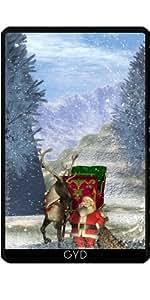 Funda para Kindle Fire 7 pouces (2012 Version) - De Santa Calus by nicky2342