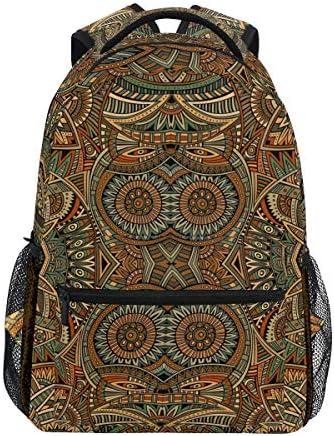 Casual Daypack Abstract Floral Tier Owls Rucksack für Jungen und Mädchen Cute Rucksack Bag Outdoor