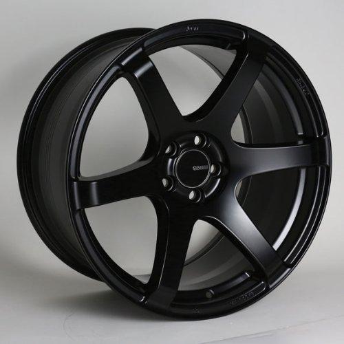 18x8.5 Enkei T6S (Matte Black) Wheels/Rims 5x114.3 (485-885-6535BK)