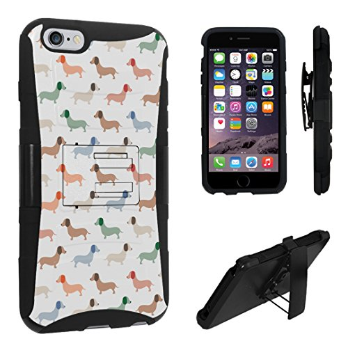 iPhone 6s Plus Case, DuroCase ® Hybrid Dual Layer Combat Armor Style Kickstand Case w/ Belt Clip Holster Combo for iPhone 6s Plus 5.5