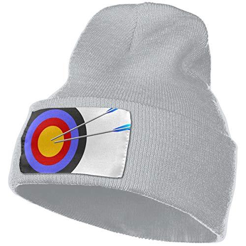 QZqDQ Archery Target Unisex Fashion Knitted Hat Luxury Hip-Hop Cap