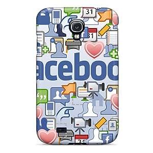 Perfect Fit SiNDvxo2323DYUfE Facebook Case For Galaxy - S4