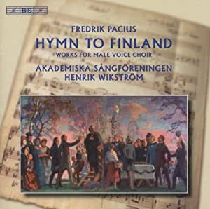 Pacius Hymn to Finland Works for Male Choir