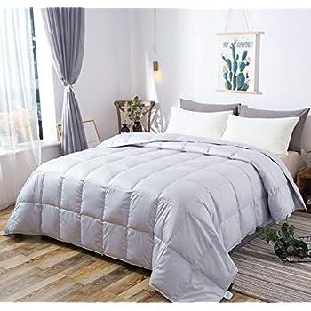 Amazon Com Globon White Goose Down Comforter Blanket King