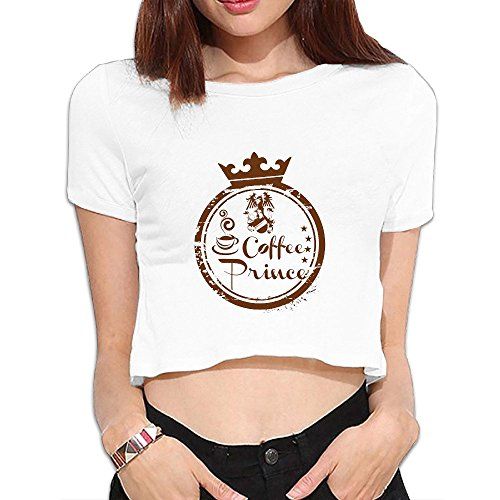 - SAXON Women's Geek Coffee Infante Bare Midriff Sexy Sweatshirt Tops