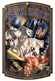 WinCraft New York Mets Jersey Wood Sign