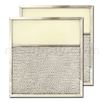 aluminum range hood filter with light lens 10 13 16 x 11 13 16 x 1 2 lens size. Black Bedroom Furniture Sets. Home Design Ideas
