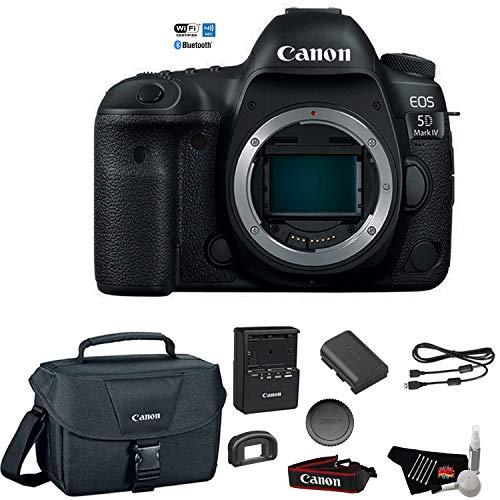 5d Digital Slr Camera Body - Canon EOS 5D Mark IV Full Frame Digital SLR Camera Body - Bundle with Canon Carrying Bag + Cleaning Kit (International Version)