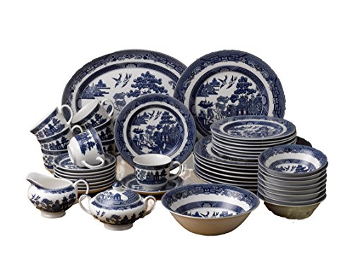 johnson-brothers-45-piece-willow-dinner-set-blue