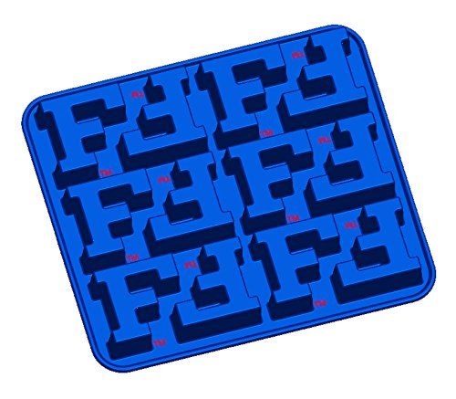 (Fanpans NCAA Florida Gators Ice Trays & Candy Mold, One Size, Blue)