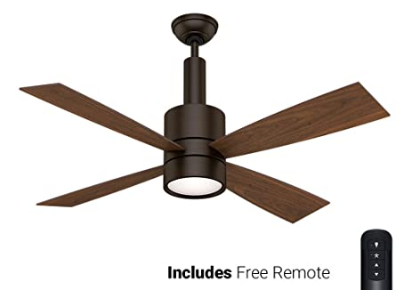 Casablanca ceiling fan 59069 bullet brushed cocoa 54 with light casablanca ceiling fan 59069 bullet brushed cocoa 54quot with light remote aloadofball Gallery