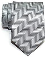 Retreez Herringbone Stripe Woven Men's Tie Necktie - Various Colors