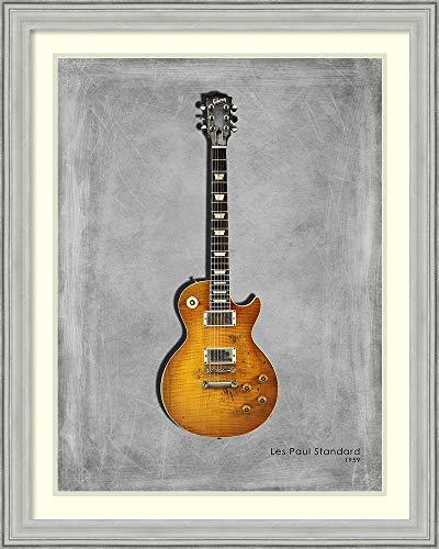 Framed Wall Art Print | Home Wall Decor Art Prints | Gibson Les Paul Standard 1959 by Mark Rogan | Casual Decor