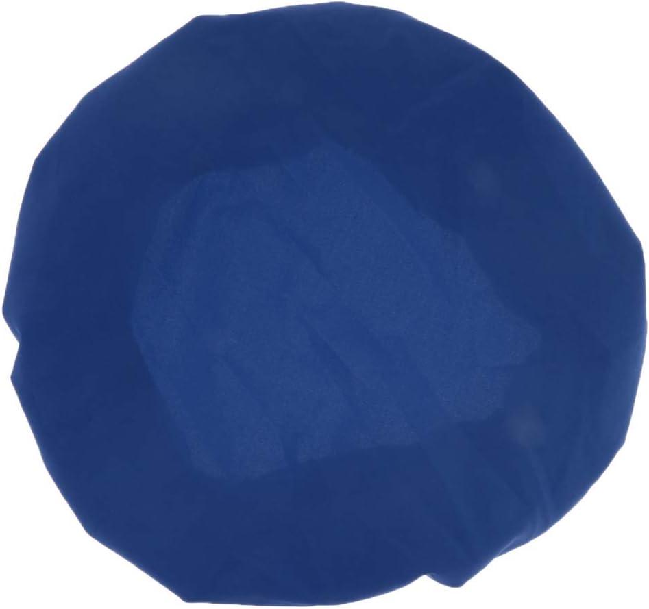 FLAMEER 3 Pezzi Blu Antipolvere Rotonda Sedia Sedile