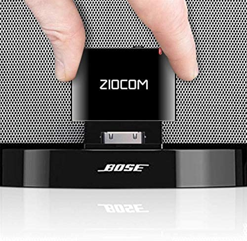 30 PIN Bose Bluetooth Adapter for Bose Sounddock and Other 30 pin Music Docking Station,30Pin iPhone iPod Dock Speaker, Not Suitable for Any car or Motorcycle -Black