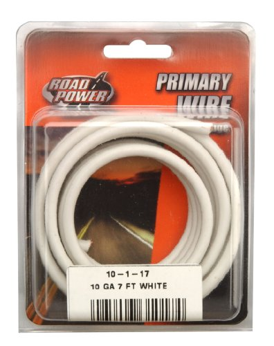 Coleman Cable 10-1-17 10-Gauge 7-Foot Automotive Copper Wire, (Coil Primary Resist)