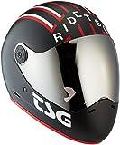 TSG Pass Pro Graphic Design (+ Bonus Visor) - Helmet for Skateboard (mav, M 56-58 cm)