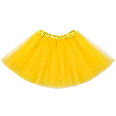 ISSHE Faldas de Tul Falda Tutu Disfraces con Tutu Mujer Tutus para ...