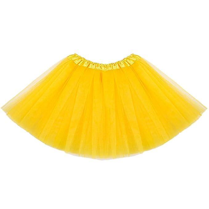 3f431e60e9 ISSHE Faldas de Tul Falda Tutu Disfraces con Tutu Mujer Tutus para Adultos  Disfraz Adulto Tutú