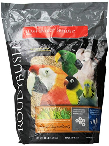 Roudybush High Energy Bird Food, 10-Pound, - High Breeder Energy Roudybush