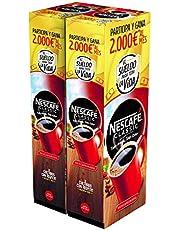 Nescafé Café soluble descafeinado, 2 Estuches de 50 Sobres de Café - 200 gr