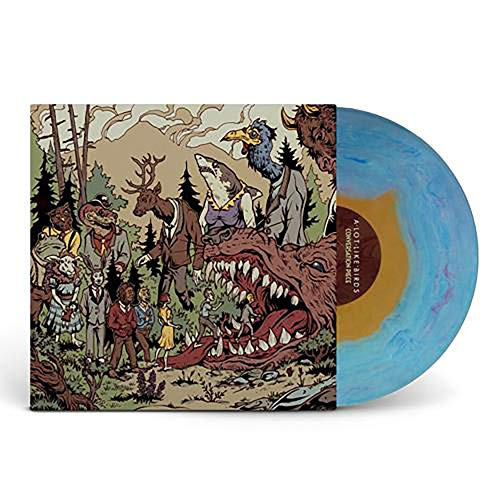 Conversation Piece - Exclusive Limited Edition Blue And Yellow Haze Vinyl LP (A Lot Like Birds No Place Vinyl)