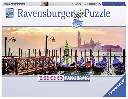 Ravensburger Gondolas in Venice-1000 Piece Panoramic Jigsaw Puzzle