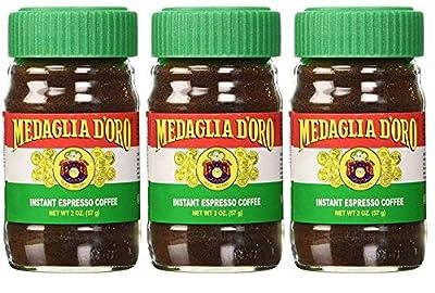 Medaglia D'Oro Instant Espresso Coffee, 2-Ounce Jar from Medaglia D'Oro