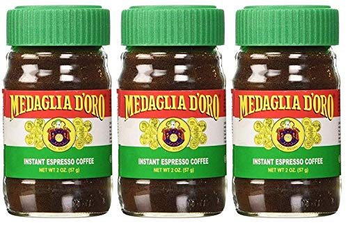 Medaglia D'Oro Instant Espresso Coffee, 2-Ounce Jars (Pack of 3) by Medaglia D'Oro