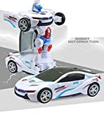 Zest 4 Toyz Robot to Car Converting Transformer Toy For Kids(Multi Color)