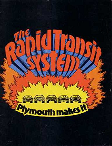 1970 Plymouth Rapid Transit System Sales Brochure Literature Book Options Specs