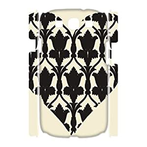 AKERCY Loving Heart Phone 3D Case For Samsung Galaxy S3 I9300 [Pattern-6]
