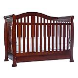 Dream On Me Addison 5-in-1 Convertible Crib (Cherry)