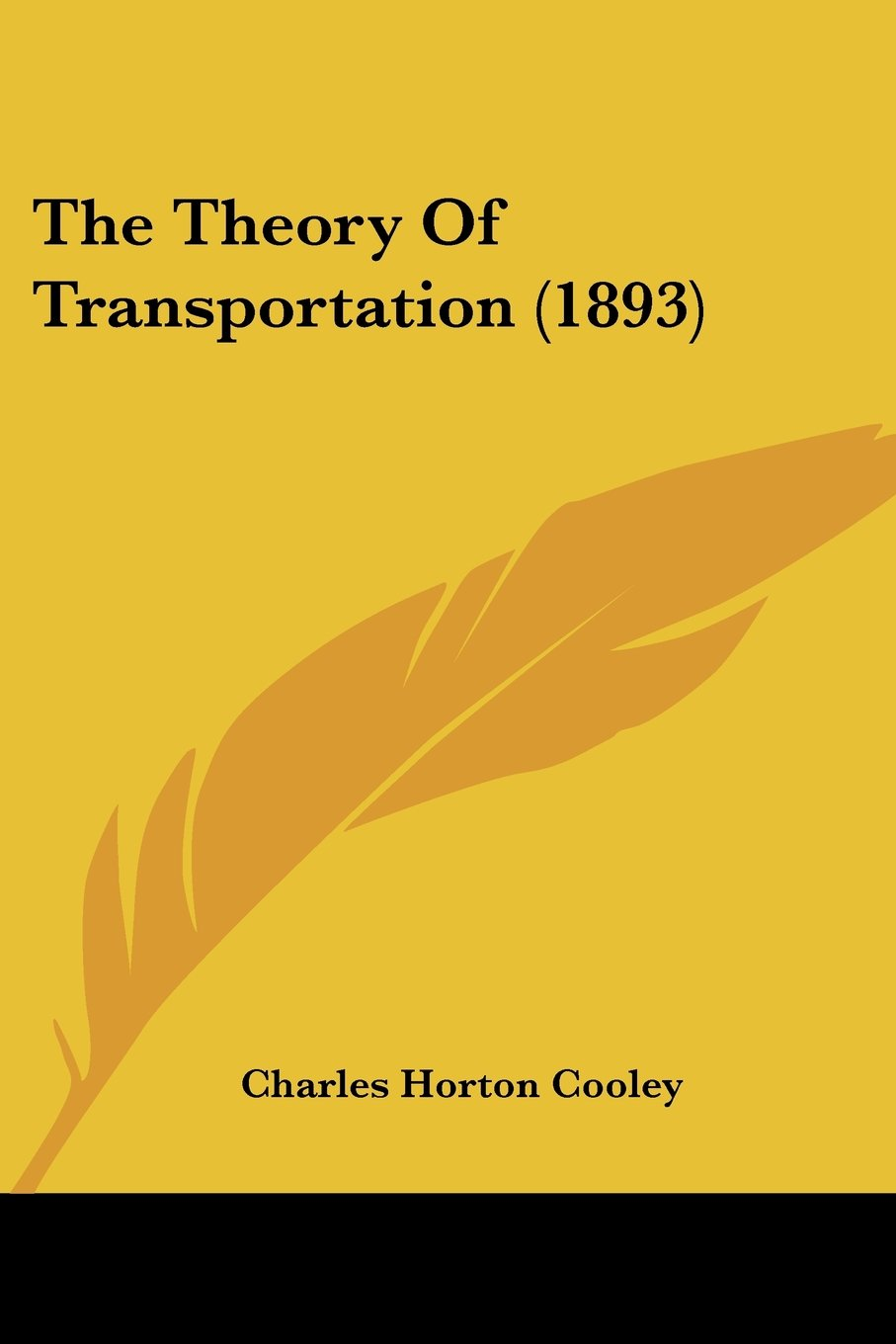The Theory Of Transportation (1893) ebook