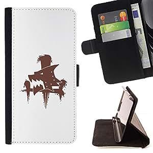 Momo Phone Case / Flip Funda de Cuero Case Cover - Lobo sesión;;;;;;;; - Samsung Galaxy Core Prime