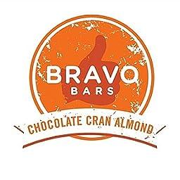 Bravo Bars Chocolate Cran Almond Nutrition Bar