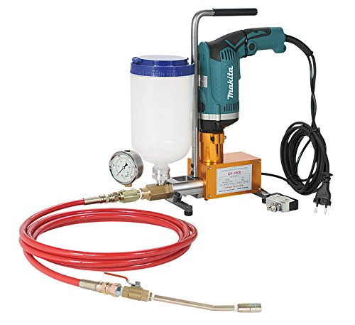 (ConRepair CY-1000 High pressure 610-1,000 kgf/cm²Grouting Injection pump for Epoxy resin and Polyurethane foam Electric Drill)