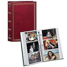 3-ring Pocket Burgundy Album for 504 Photos - 4\