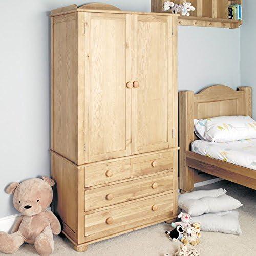 2 para puerta armario para niños son muebles de madera de roble ...