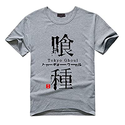 ELEFINE Boys Girls Anime Tokyo Ghoul Cosplay Kaneki Ken Costume T-Shirt