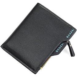 JD Million shop Bogesi Small Famous Brand Handy Portfolio Men Wallet Purse Male Clutch Bags With Coin Money Perse Portomonee Walet Cuzdan Vallet