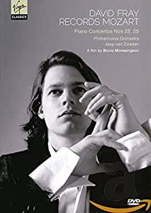 David Fray Records Mozart: Piano Concertos Nos. 22, 25