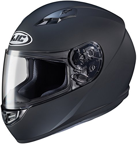 HJC Cs-r3 Matte Black Size:LRG Motorcycle Full-face-helmet