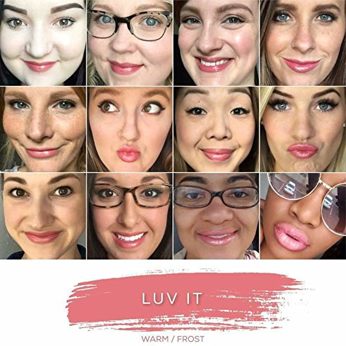 LipSense Collection: Lip Color, Glossy Gloss, Ooops Lip Color Remover (Luv It)